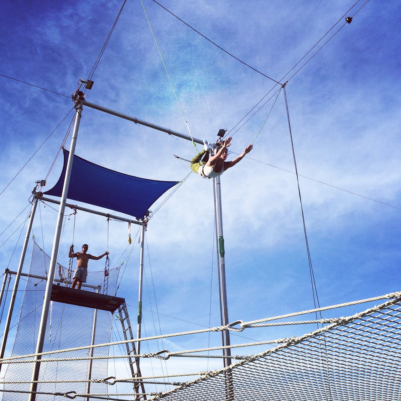 Trapeze by the Hudson River